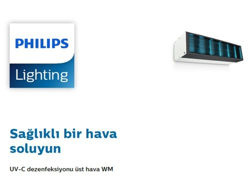 Upper Air UV-C Disinfection Fixture (Wall) Brochure