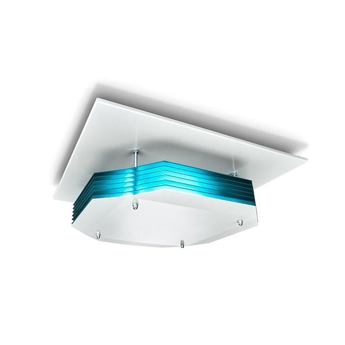 Upper Air UV-C Dezenfeksiyon Armatürü | Tavan Montaj