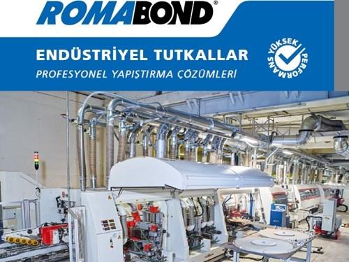 Romabond Endüstriyel Tutkallar Broşürü