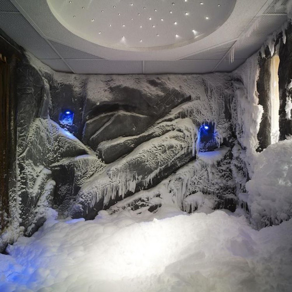 Snow Room Design, Project, Application and Equipment