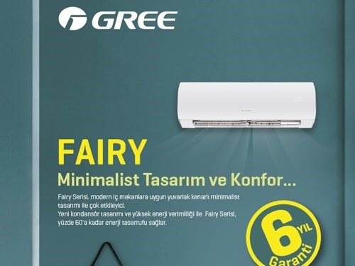 FAIRY Wall Mounted Split Air Conditioner Brochure