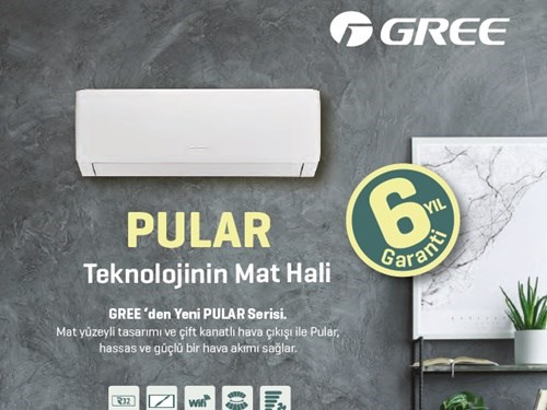 PULAR Wall Mounted Split Air Conditioner Brochure