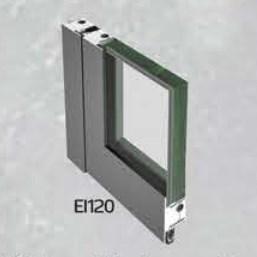 EI 120 Class Fire Resistant Glass