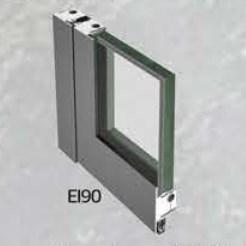 EI 90 Class Fire Resistant Glass