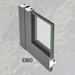 EI 60 Class Fire Resistant Glass