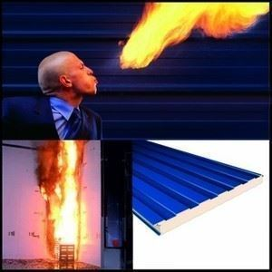 Sandwich Panel Firesafe (Fireproof) IPN Insulation