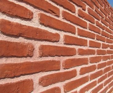 Tumbled Brick Look Spanish Decorative Wall Coverings - 3