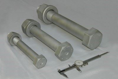 Dip Galvanized Bolts and Nuts