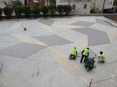 Çimento Terrazzo Yer Kaplama Kimyasalları/Mertonit