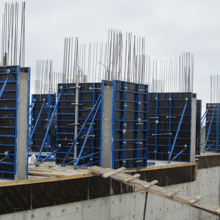 Polex Panel (Light) Type Curtain Wall Formwork System - 1