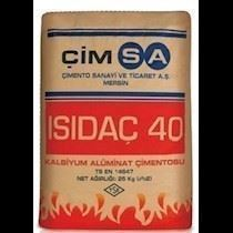 Kalsiyum Aluminat Çimentosu/ISIDAÇ 40