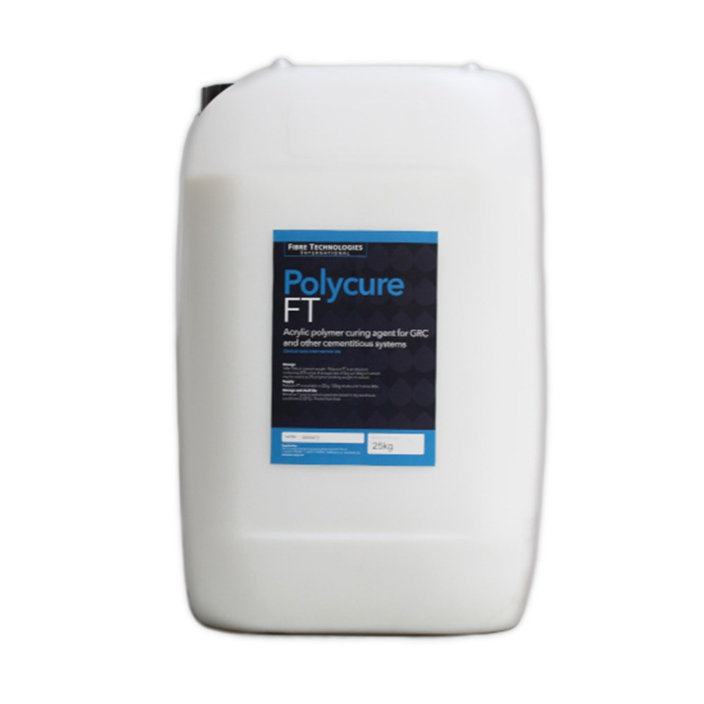 Polycure FT - Polymer for Glass Reinforced Concrete