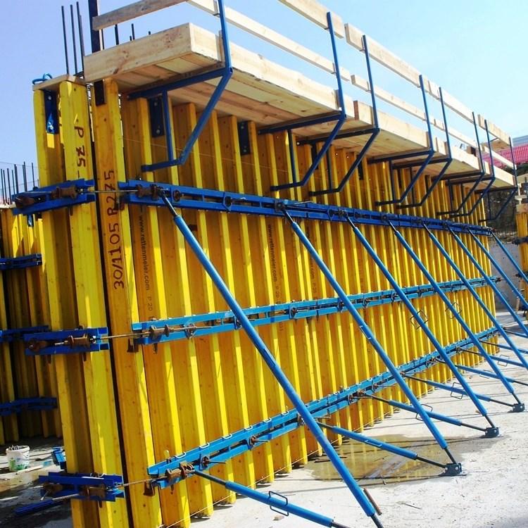 Portiwood Curtain Wall Formwork - 0