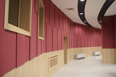 Duvar Levha Kaplamaları, Ahşap Akustik Lambriler