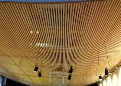 Akustik Mimari Linear Tasarımlı Tavanlar