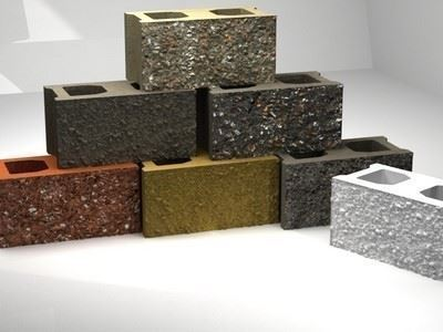 Modular Concrete Masonry Elements