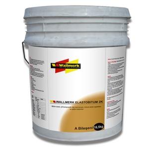 Polimer Bitüm Esaslı Likit Su Yalıtım Malzemesi/Elastobitum 2K