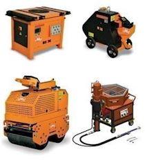 İnşaat Demiri Kesme ve Bükme Makinesi, Silindir, Alçı-Sıva Makinesi