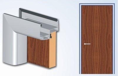 Alüminyum Pervazlı İç Kapı Sistemi/SP40