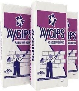 AYGIPS® Alçı Bazlı Duvar Örgü Alçısı
