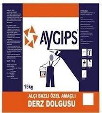 AYGIPS® Alçı Bazlı Özel Amaçlı Derz Dolgusu