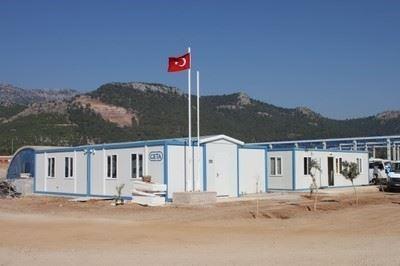 Prefabrike Şantiye Binası