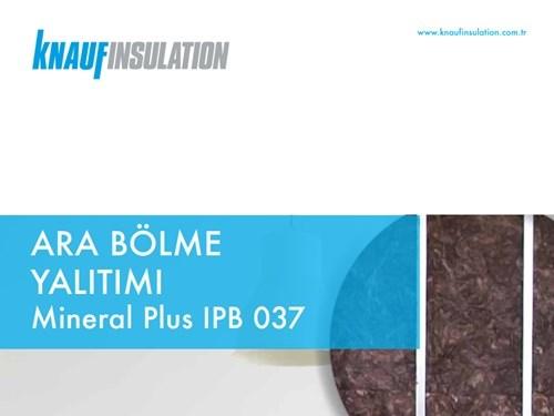 Knauf Insulation Partition Insulation Brochure