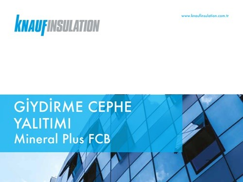 Knauf Insulation Curtain Wall Insulation Brochure