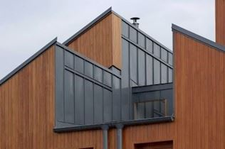 Renkli Çelik Kenet Çatı Sistemi