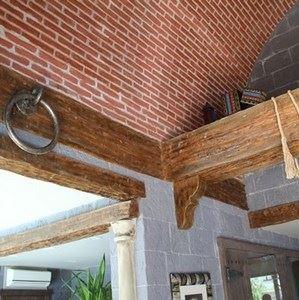 Spanish Made Faux Wood Brackets - 1