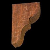 Eskimiş Ahşap Görünümlü İspanyol Dekoratif Dirsek - Eliböğründe