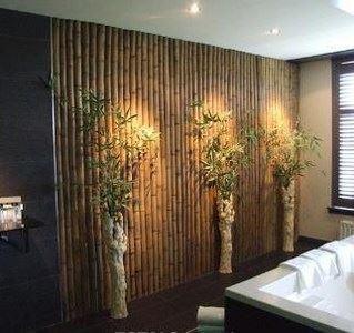 Bamboo Look Decorative Wall Panel - 3