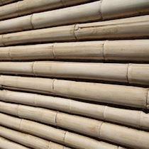 Bambu Çubuk Görünümlü İspanyol Dekoratif Kaplama Paneli