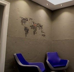 Concrete Wall Look Spanish Decorative Facade Coverings - 7