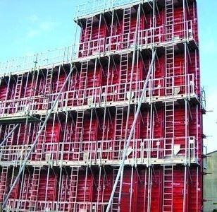 Perde-Kolon Kalıbı/FRWF Çelik Perde Kalıbı Sistemi