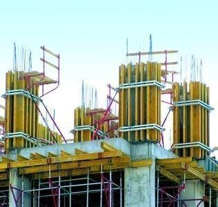 Perde-Kolon Kalıbı/H20P Plywood Kolon Kalıbı Sistemi