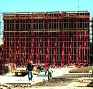 Perde-Kolon Kalıbı/H20P Plywood Perde Kalıbı Sistemi