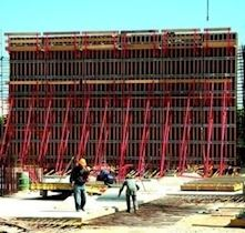 Shear Wall - Column Formwork | H20P Plywood Shear Wall Formwork System