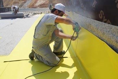 Homojen PVC Su Yalıtım Membranı/BASECAP