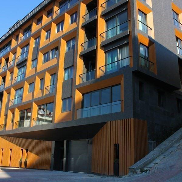 Compact Laminate Interior and Exterior Facade Panels