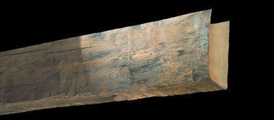 Tumbled Wood Look Spanish Decorative Ceiling Beams (angled) - 2