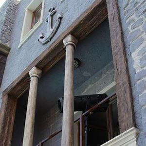 Tumbled Wood Look Spanish Decorative Ceiling Beams (angled) - 5