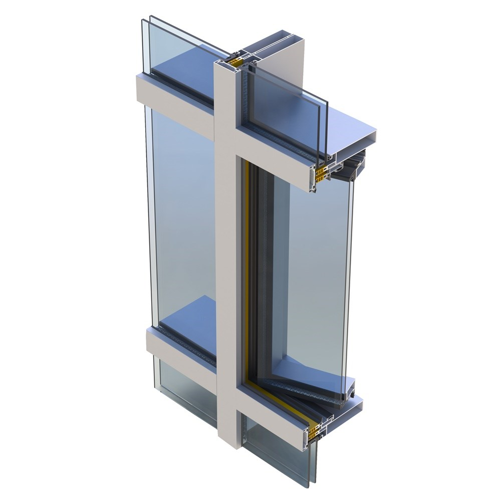 Aluminium Curtain Wall Systems| BG 60