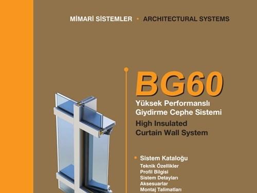 BG 60 Ürün Broşürü