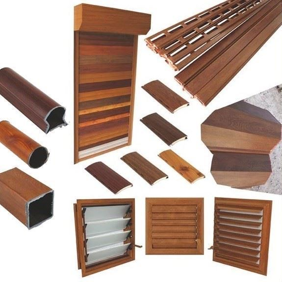 Natural Wood Effect Foils for Windows and Doors