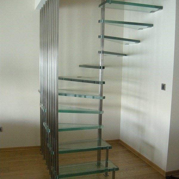 Metal Helezon Merdiven.