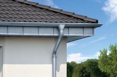 Titanyum Çinko Yağmur Suyu İndirme Sistemi