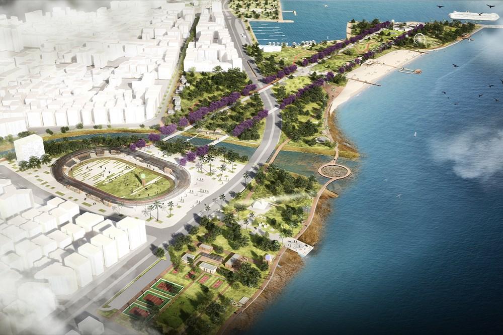 Mersin Tevfik Sırrı Gür Stadyumu ve Çamlıbel Limanı Kentsel Tasarımı