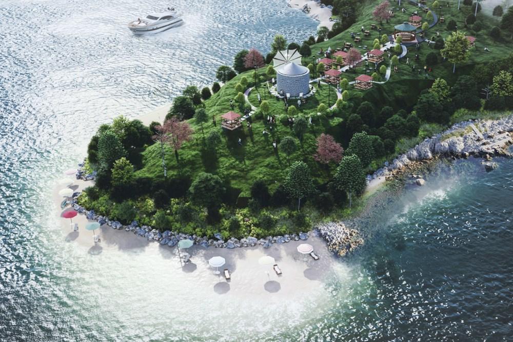 İstanbul Heybeliada Değirmenburnu ve Çevresi Peyzaj Fikir Projesi