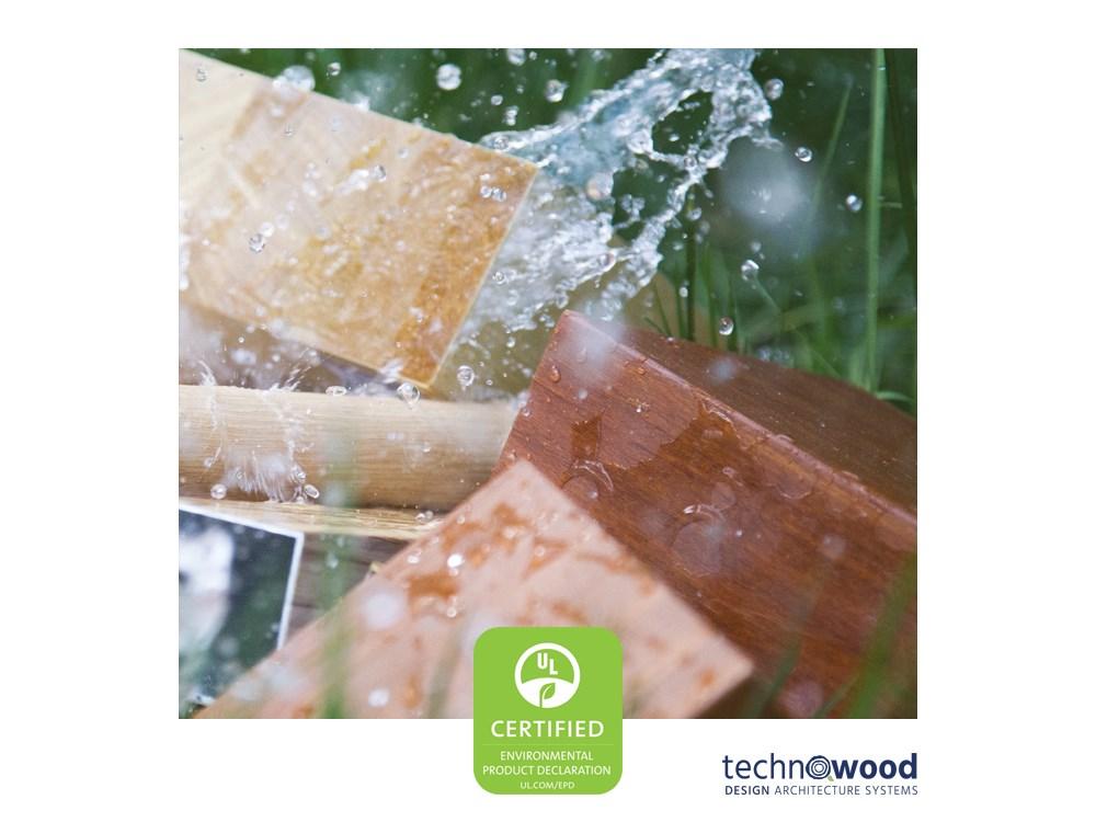 Technowood kalitesi UL tarafından EPD(Çevresel Ürün Beyanı) Sertifikasıyla onaylandı!
